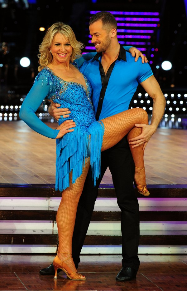 Fern Britton and Artem Chigvintsev danced together (Rui Vieira/PA)