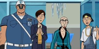 The cast of The Venture Bros.