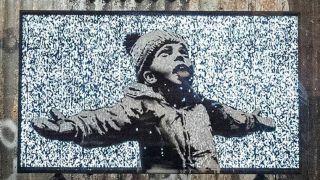 Banksy installation