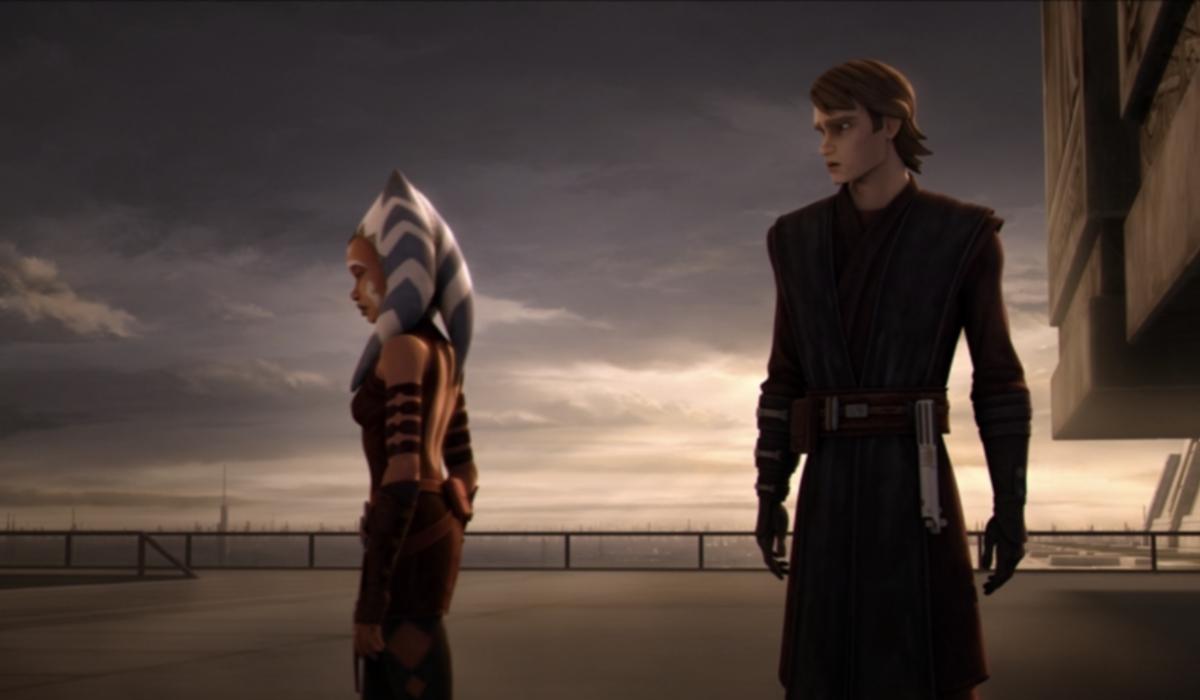 the clone wars ahsoka walking away from anakin