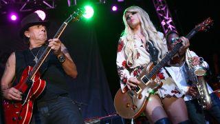 Richie Sambora and Orianthi