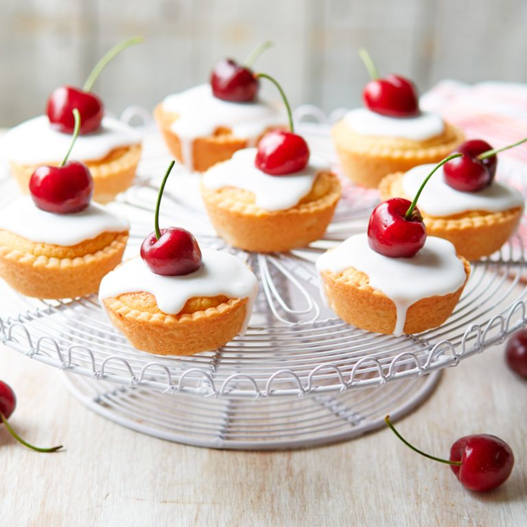 Dame Judi Dench's Mini Cherry Bakewells photo