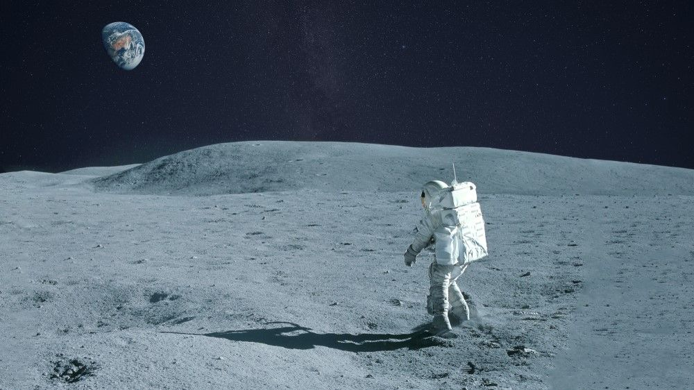 How long would it take to walk around the moon?