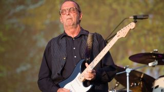 Slowhand's first full-length holiday album will arrive on October 12.