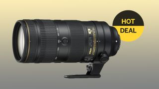Save $450 on the Nikon AF-S 70-200mm f/2.8E FL ED VR lens