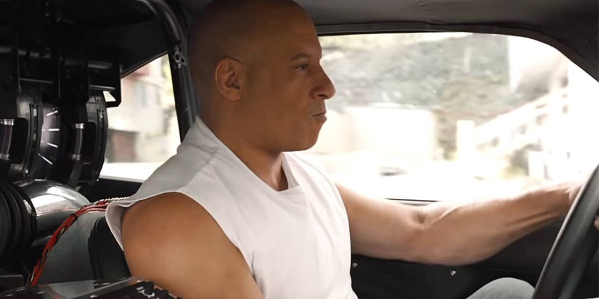Vin Diesel drives car in F9 Fast and Furious 9 official trailer