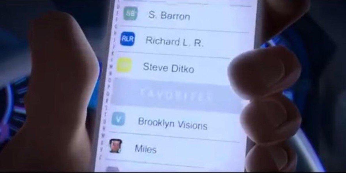 Spider-Man: Into The Spider-Verse Screenshot Steve Ditko