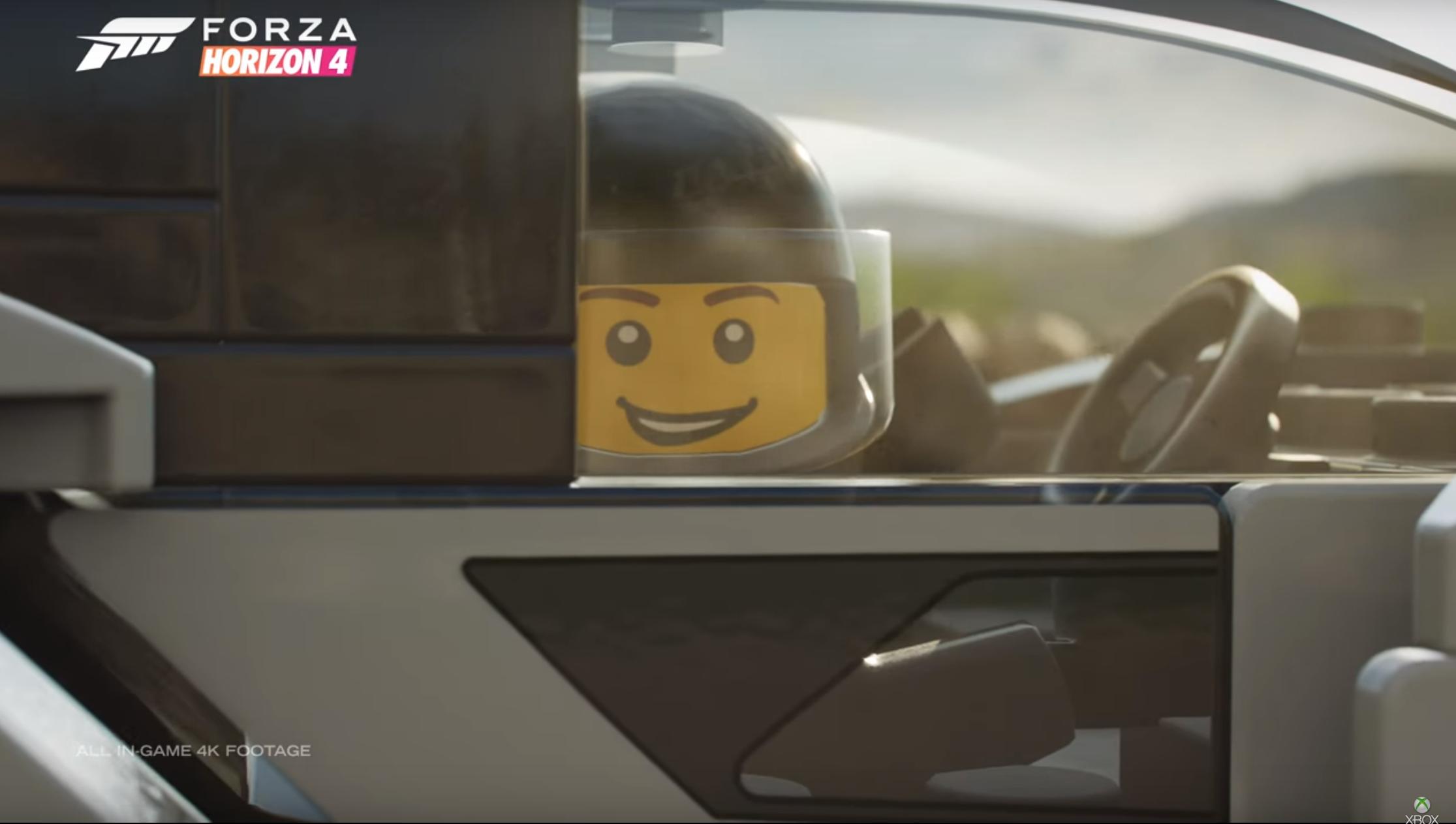 Lego is coming to Forza Horizon to encourage smashing cars