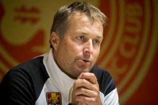 Denmark manager Kasper Hjulmand