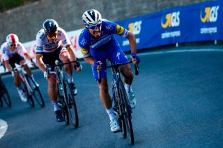 Frances Julian Alaphilippe C rides during an attack in the Poggio ascent during the oneday classic cycling race Milan San Remo on March 23 2019 Photo by Luca Bettini POOL AFP Photo credit should read LUCA BETTINIAFP via Getty Images