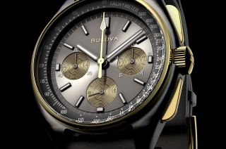 Bulova's new 50th Anniversary Limited Edition Lunar Pilot marks 50 years since a Bulova chronograph was worn on the moon.