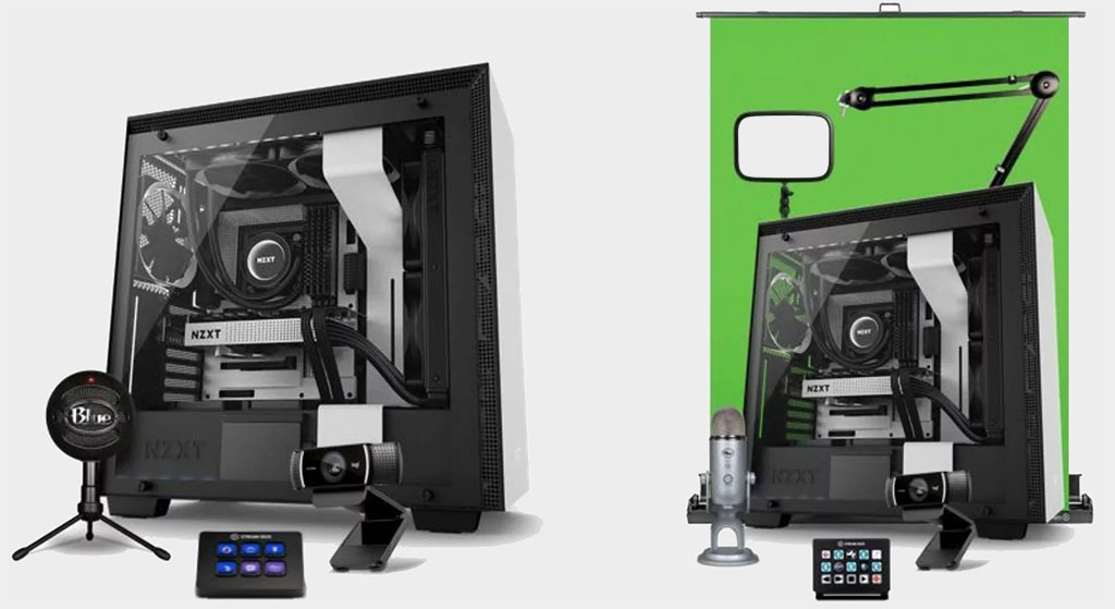 NZXT is now offering prebuilt PC bundles for aspiring