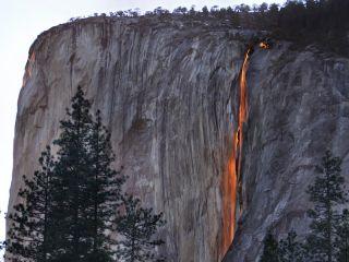 Yosemite Park Firefall