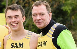 Adam Woodyatt proud his son's recovery after car hit him at 56mph as Sam takes part in cheerleading world championship