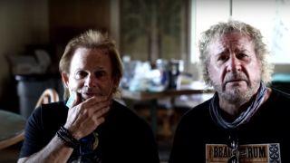 Sammy Hagar and Michael Anthony