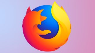 Mozilla Firefox logo on gradient background