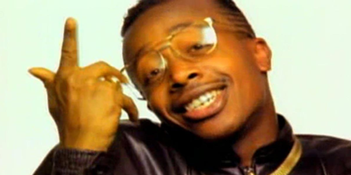 "MC Hammer in the video for ""U Can't Touch This"""