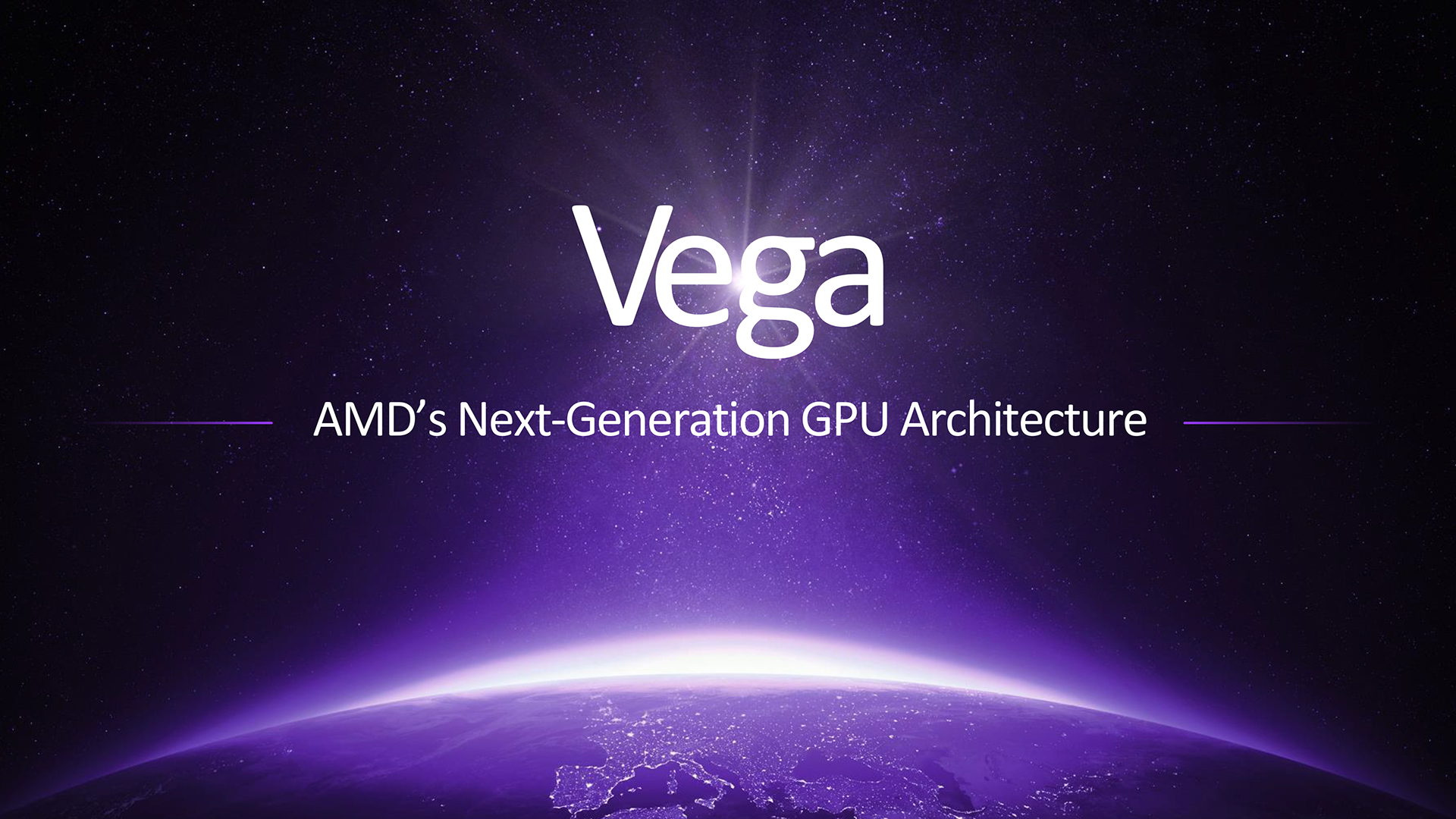 AMD Vega takes the stage, flexing serious graphics muscle