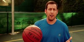 Adam Sandler Is Out Here Balling With NBA Stars Again, And Twitter Can't Get Enough