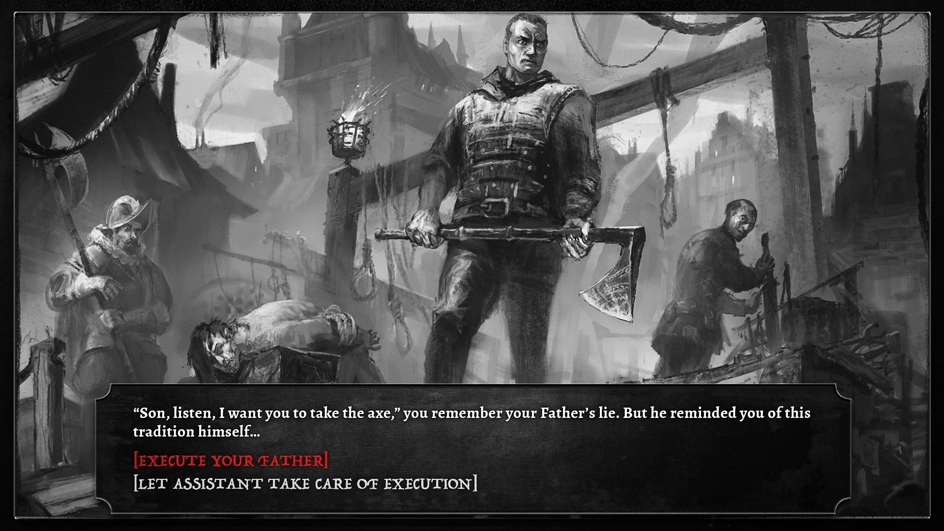 The Executioner, an RPG that places you in the shoes of a torturer, is out today | PC Gamer