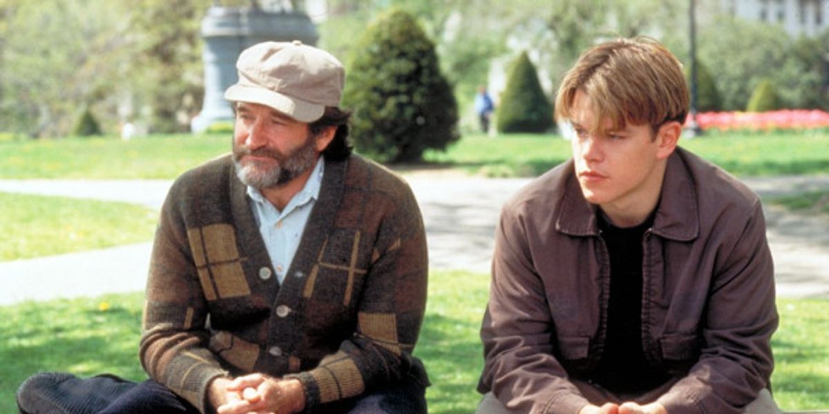 Robin Williams Matt Damon Good Will Hunting