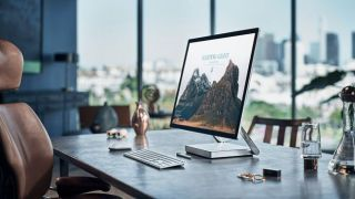 Microsoft Surface Studio In An Office