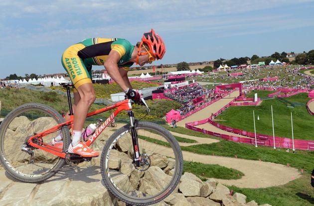 Burry Stander, Men's mountain biking, London 2012 Olympic Games