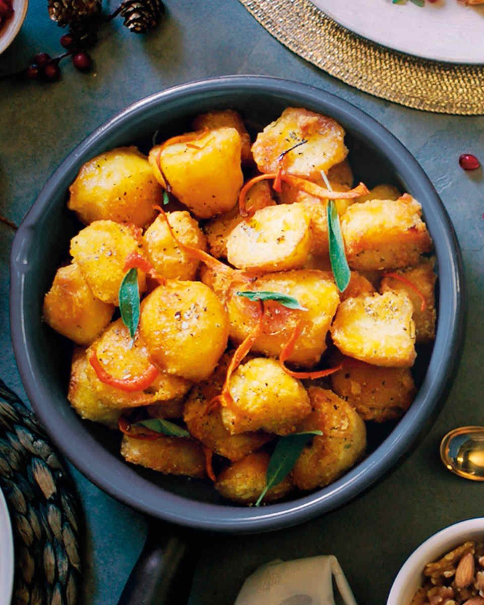 Nigel Slater's roast potatoes