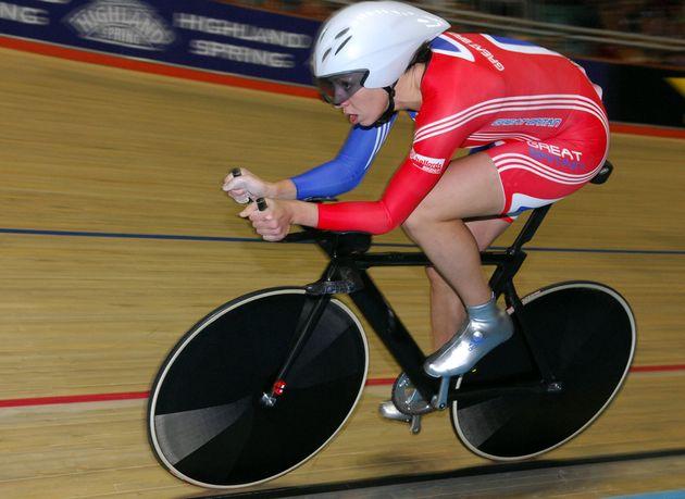 Rebecca Romero pursuit record