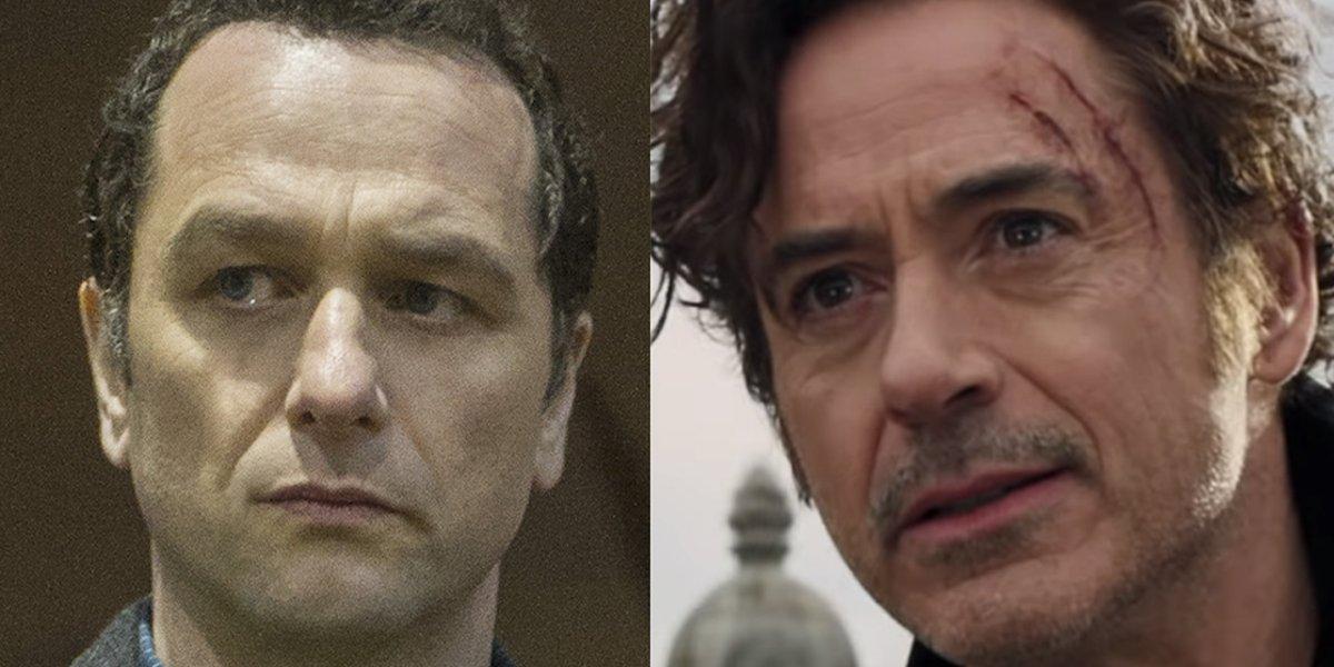 Matthew Rhys in The Americans Robert Downey Jr. in Dolittle