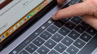 How to restart the Touch Bar on macOS