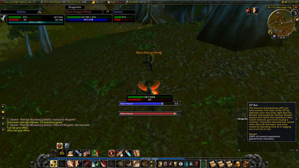 Wow interface classic