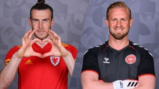 live stream Wales vs Denmark at Euro 2020