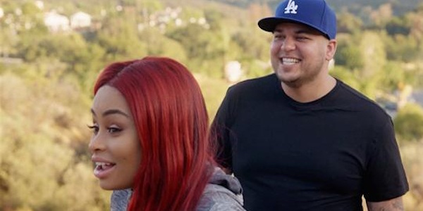 Rob Kardashian and Blac Chyna on Rob & Chyna