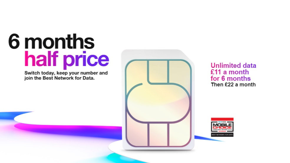 This Unlimited Data Sim Deal From Three Is Too Good To Ignore Starting From 11 Pm Techradar