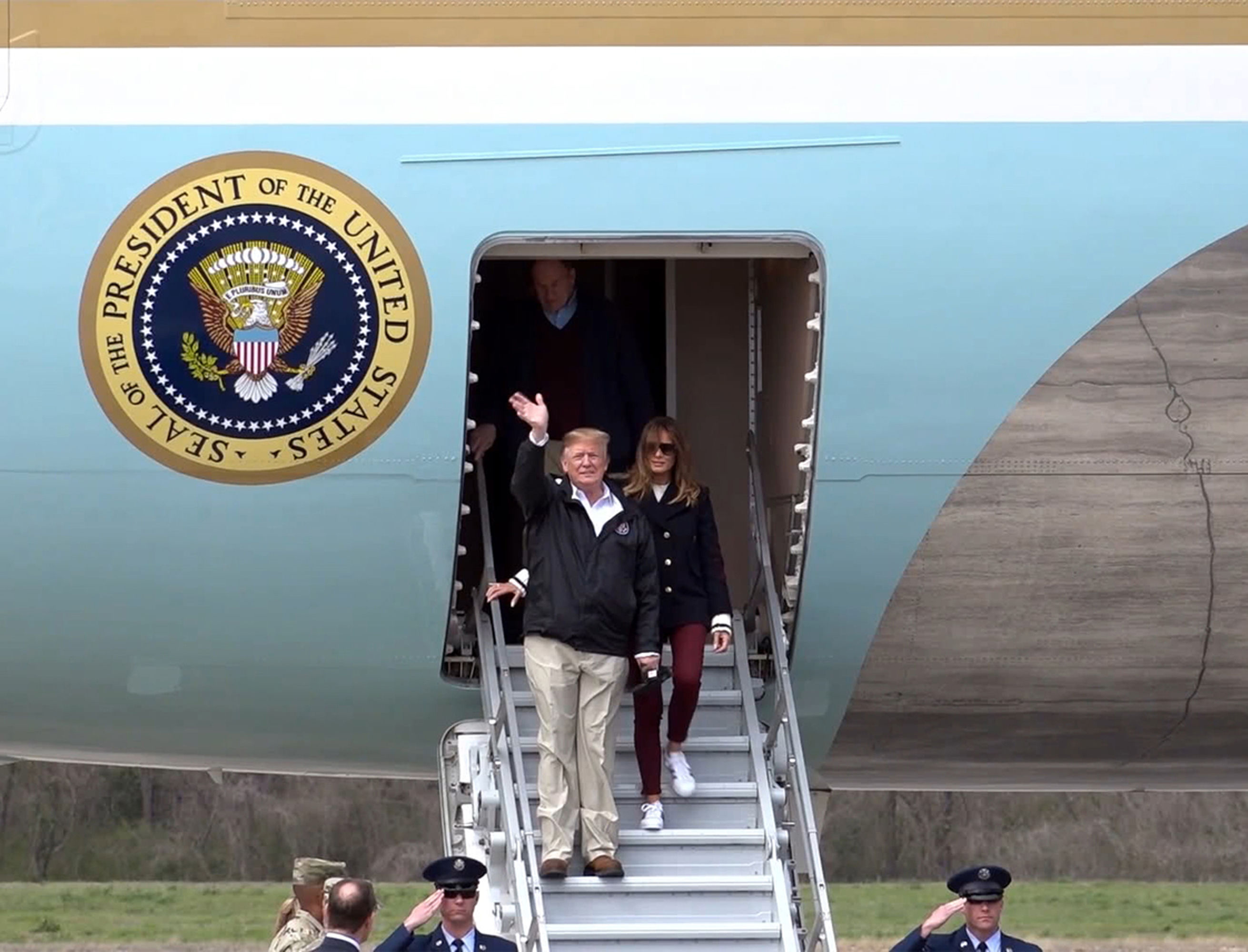 Inside Air Force One Secrets Of The Presidential Plane Channel 5