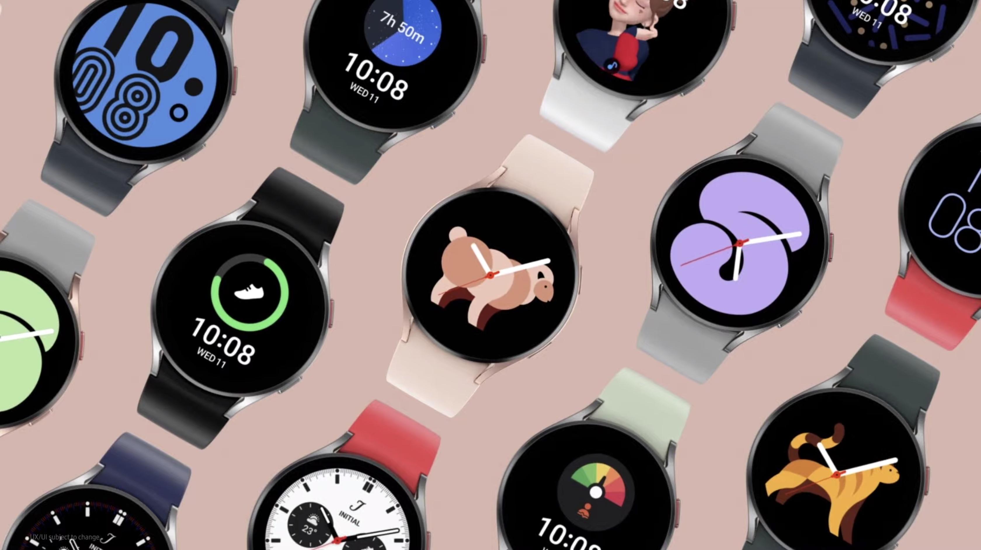 Samsung Galaxy Watch 4 at Unpacked 2021