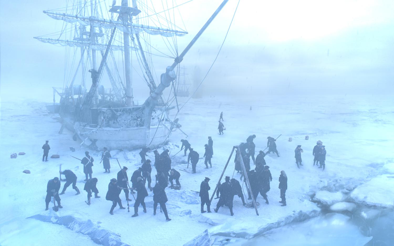 Doomed 19th-Century Arctic Explorers Suffer in 'The Terror
