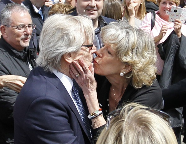 William Roache and Sue Nicholls