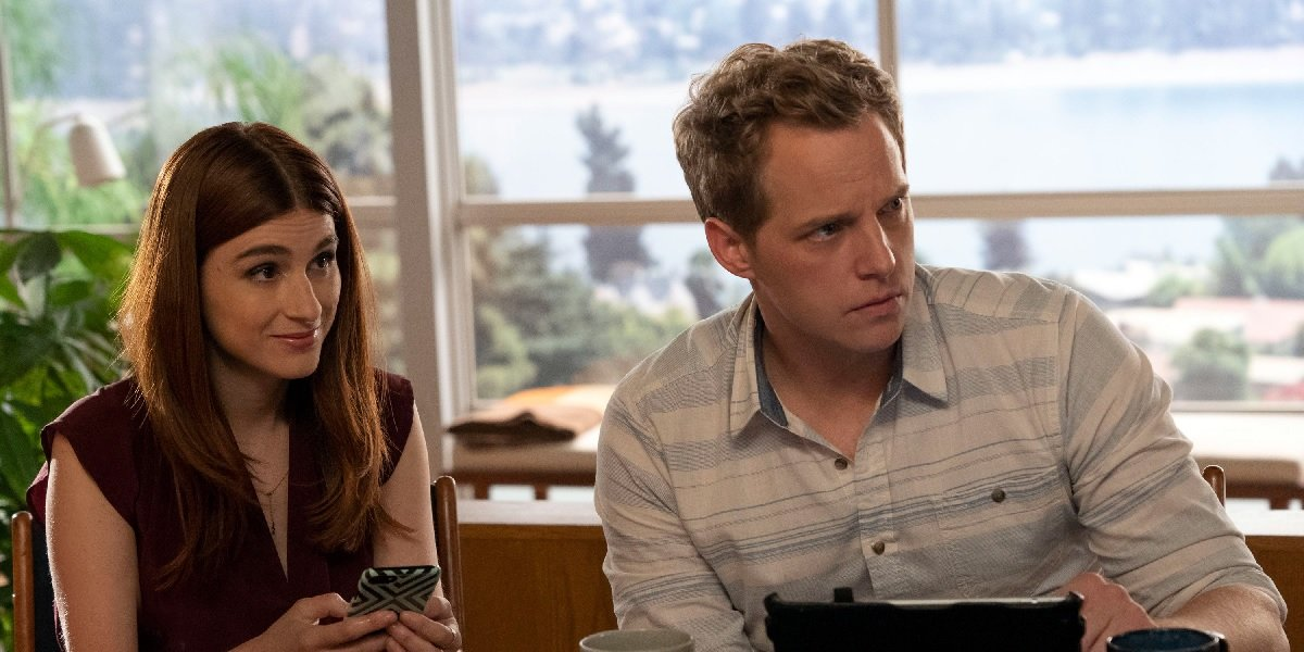 Aya Cash and Chris Geere in You're The Worst