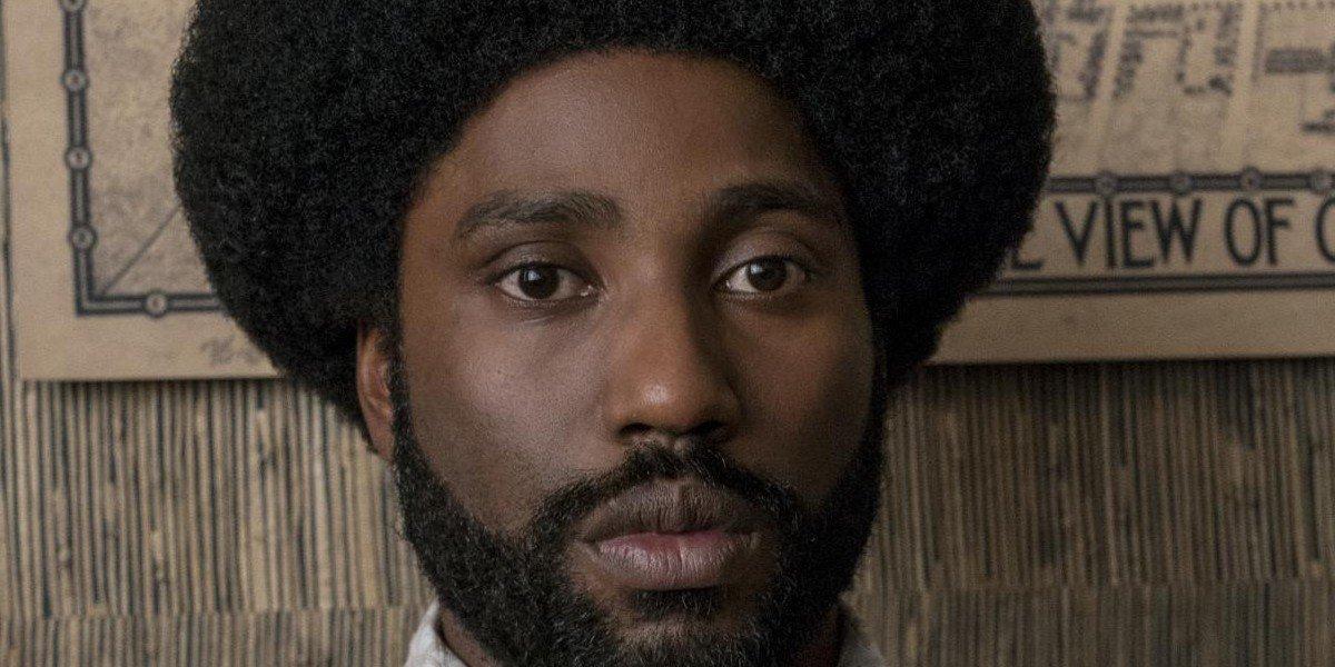 Ron Stallsworth (John David Washington) with afro