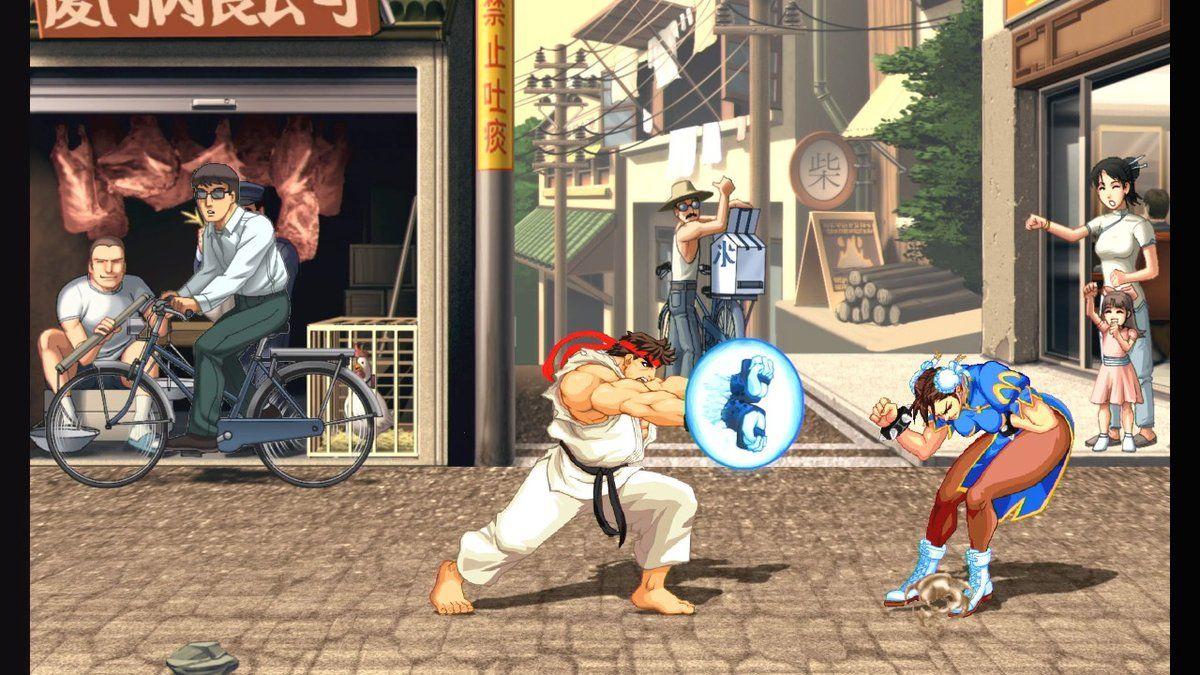 street fighter 2 ryu moves nintendo