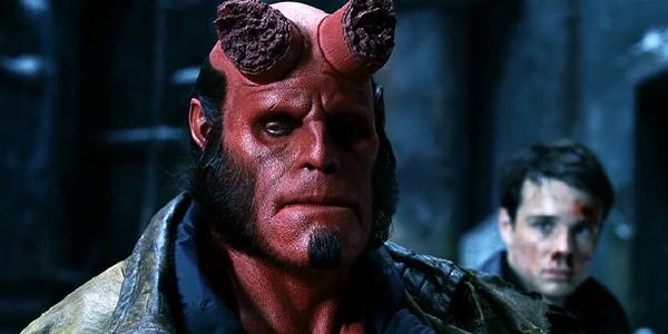 Ron Perlman as Hellboy 2004