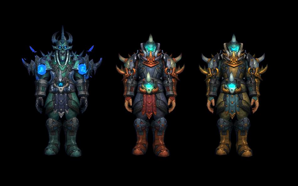 how to get blackrock armor