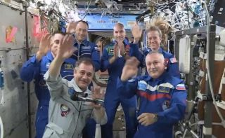 Expedition 36 on International Space Station