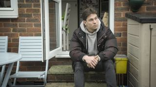 Joey Essex contemplating what happened to his mother Tina when he was just a boy.