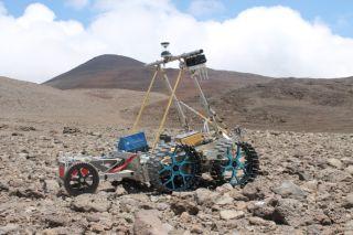 Prototype of Canada's Juno Rover