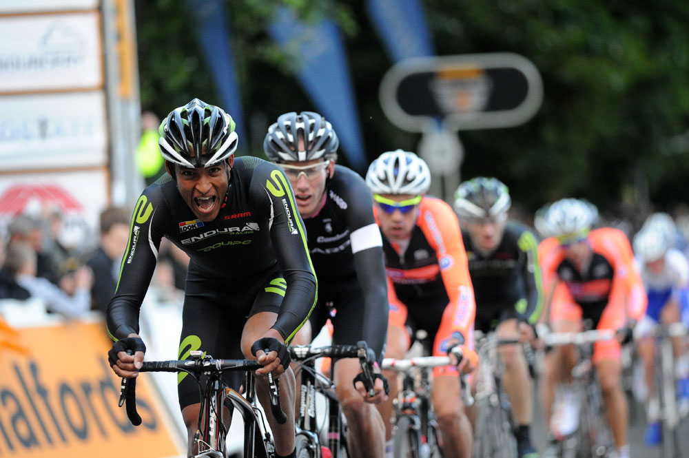 David Clarke on the front, Tour Series 2011, round one