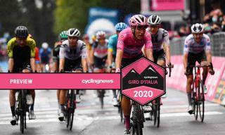 Joao Almedia overall leader at the Giro d'Italia