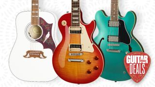 Is now the time to pick up a new Gibson or Epiphone guitar? Save hundreds in the latest Guitar Center sale